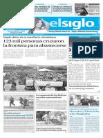 Edicion Impresa El Siglo 18-07-2016