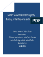 Thayer Military Modernization in the Philippines and Vietnam