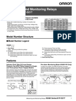 K8AB Monitoring Relay Datasheet
