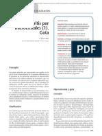 06.049 Artritis Por Microcristales (1). Gota