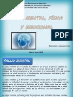 Salud Mental Fisica y Emocional