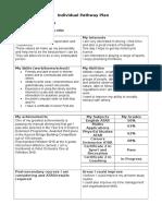 jordanjonesindividual pathway plan
