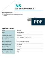 7MH5106 SIEMENS SIWAREX WL230 BENDING BEAM LOAD CELL