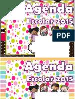 Agenda Docente Portadas Editables