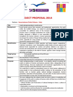 Project Proposal Onda Urbana Italy