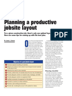 Concrete Construction Article PDF- Planning a Productive Jobsite Layout