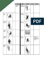 Bowflex Schedue