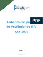 Gabarito ITA 1995