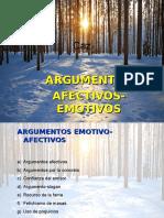 argumentos emotivos afectivos