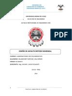 Bladimir Farfan Valvede - Diseño de Asfalto Metodo Marshall