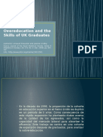 overeducation and skill  OF UK graduates