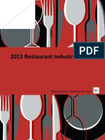 2013 Restaurant Industry Report