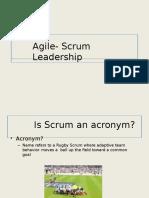 Agile Scrum Slides