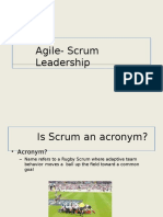 Agile Scrum Slides