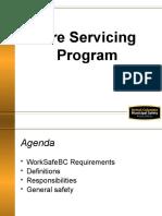 Tire Servicing Program Ppt