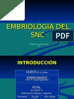 Embriogenesis Del SNC 2016