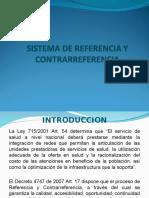 Sistema de Referencia y Contrareferencia Diapositivas
