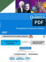 Clase 8 Recapitulación Estructura Atómica 2016