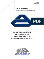 Heat Exchanger Aftercooler and Separator