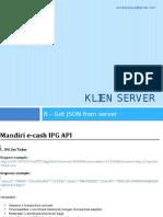 8 - Server Application Programming (PHP)