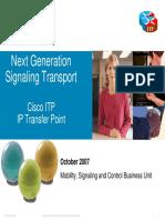Cisco IP Transfer Point (ITP)