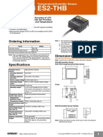 Omron Temperature & Humidity Sensor