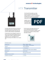 MeasurIT Meaco HTX Transmitter 0911