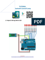 Tutorial Arduino Bluetooth controller 8 Lamp