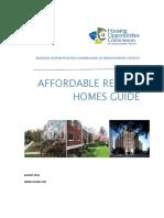 Affordable Rental Homes Guide