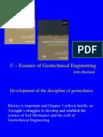 Essence of Geotechnical Engineering
