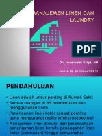 Manajemen Linen Dan Laundry