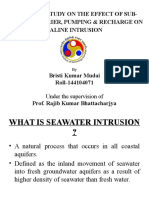 Saline Intrusion