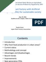10A Dr. T. Kozai Plant Factory APO 20160630.pdf