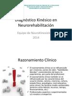 Diagnóstico Kinésico en Neurorehabilitación