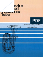 First Book of Practical Studes From Tuba Getchell