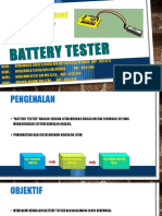 Project 4 - Battery Tester