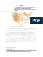 Case Study 13_Water - Demand and Supply