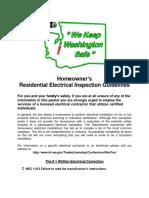 Residential Checklist