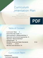 edu707 leach curriculumimplementationplan
