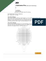 Tennis Racket Stringing Instructions 2007