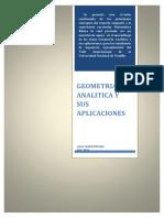 Geometría Analítica y Sus Aplicaciones