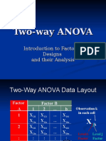 Two Way Anova