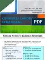 Konversi Laporan Keuangan