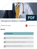 Management in Healthcare Slides 2010