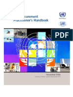 UN Procurement Practitioner's Handbook