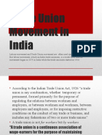 Trade Union Movement in India (Sep 15)01