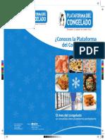 Diptico Plataforma Del Congelado 2012.
