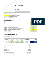 Strap Footing Design Spreadsheet.xlsx