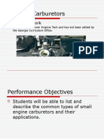 Carburetors Types