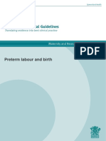 PPI preterm labour